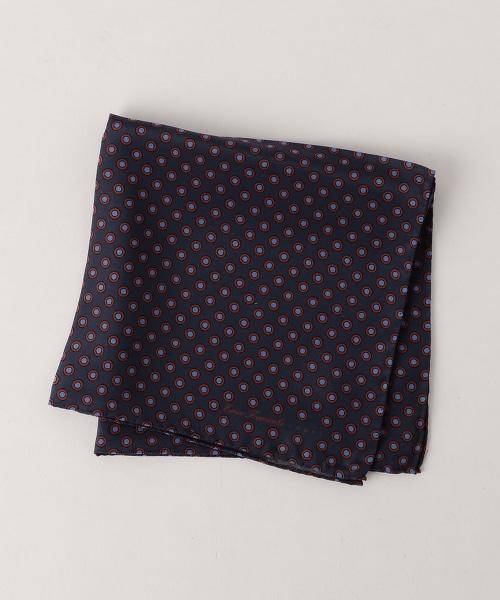 <ERRICO FORMICOLA> TWLL DOT CHF 圓點口袋巾