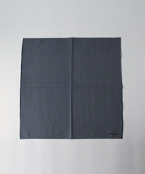UA 糖果色條紋純棉BANDANA方巾
