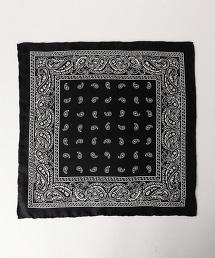 UDBS BANDANA 佩斯利花紋絲質口袋巾