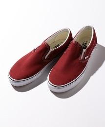 <VANS> CLASSIC SLIP-ON 復古懶人鞋/滑板鞋