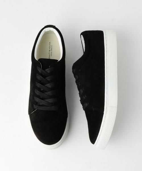BY 6鞋眼皮革休閒鞋