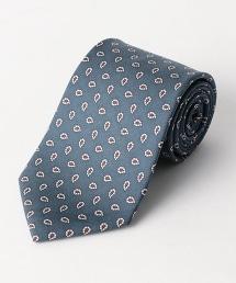 BY 渦紋圖案領帶