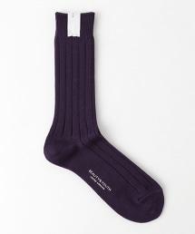 BY 絲光紗羅紋長襪