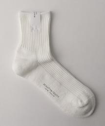 BY 螺紋毛絨結實襪子