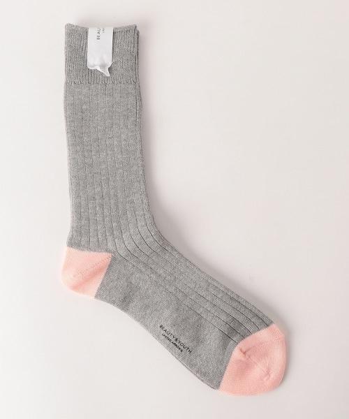 BY 雙色襪