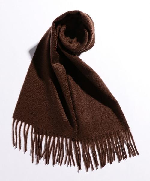 BY 喀什米爾羊毛素面圍巾