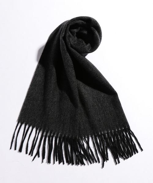 BY 雙面喀什米爾羊毛圍巾