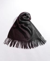 BY 漸層色喀什米爾圍巾