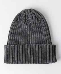 BY 棉質螺紋毛帽