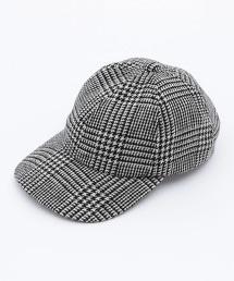 BY 格紋 6P 棒球帽