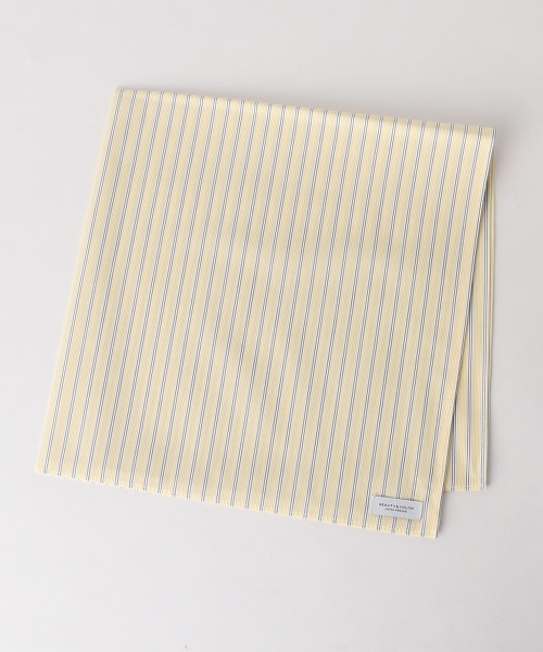BY 直條紋 手帕