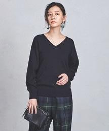 UWSC C/W V領寬版針織衫