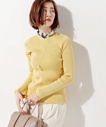 UWMF 羅紋飾邊針織衫