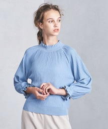 <Marilyn Moon>荷葉袖針織衫