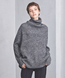 <BATONER>高領毛衣