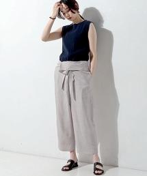 UGMM 繫帶錐形寬褲