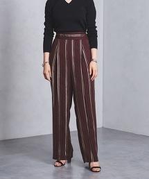UWMSC 金絲條紋寬褲