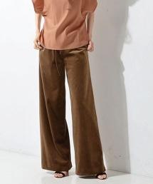 <SACRA> 天鵝絨寬褲