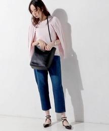 ○UBBT CO/SI 圓領針織開襟衫
