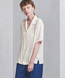 UGMSC 刺繡彩色開領襯衫