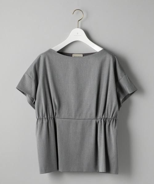 UBCB P/R 斜紋雙碎褶套衫