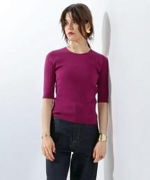 UGBT 5分袖羅紋針織套頭衫