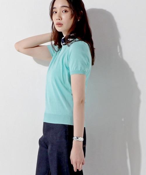 UBBT CO/SI 圓領短袖針織衫