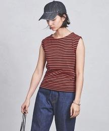 UBCS 橫條紋無袖針織上衣