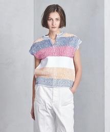 UGSC/BS 寬幅橫條紋針織上衣