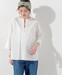 UWBT 蝴蝶結腰帶卡夫坦襯衫