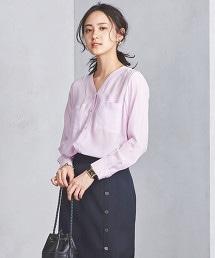 UBCB R/SI 口袋 V領罩衫