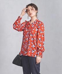 UWSC 花朵印花蝴蝶結套衫