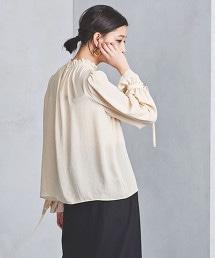 UWSC 褶邊 立領 罩衫