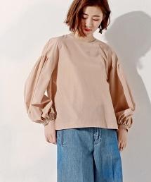 <SACRA> 燈籠袖襯衫
