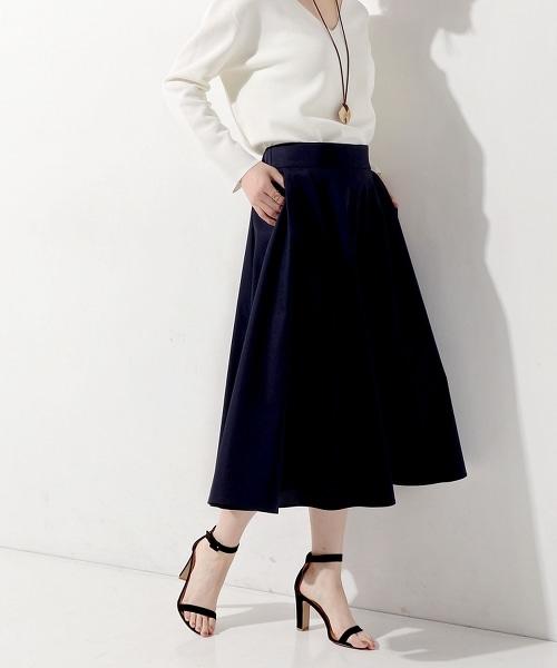 □UWCE 圓形喇叭長裙