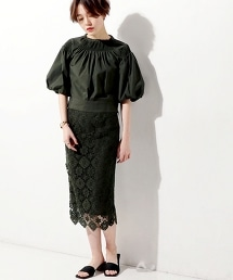 UGMF 蕾絲修身長裙