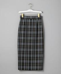 UWSC 格紋 窄管 迷嬉長裙
