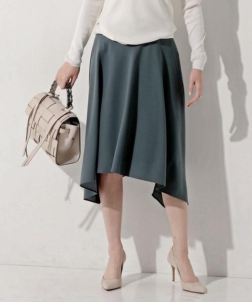 UBMF 一片式不規則荷葉裙