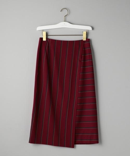 UBCB R/N 色塊條紋前蓋式裙