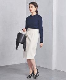 UBCB 兩側縫線 窄裙