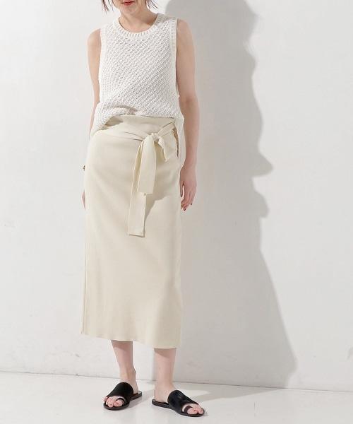 UWMF 蝴蝶結針織窄裙