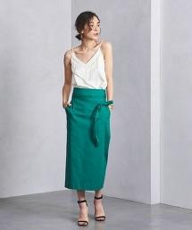 <SACRA>腰帶窄裙