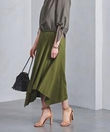 <SACRA>不對稱 長裙◆