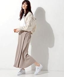 UGBT/BS 針織百褶長裙