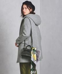 ○UWSC 連帽拉鏈大衣