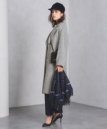 □UWFM 刷毛寬版查斯特大衣