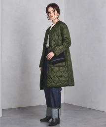 UWSC V領無領尼龍絎縫大衣