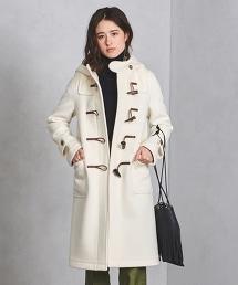 ○UBCS 羊毛莫爾敦呢牛角釦粗呢大衣