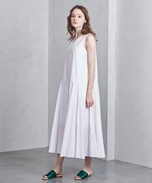 □UWSC 棉質 V領 迷嬉洋裝†