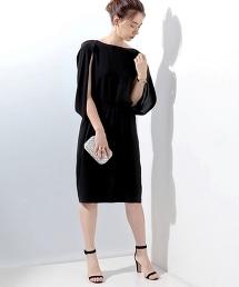 UBCE TA/P 露臂袖洋裝